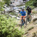 Elektro-Mountainbikes i, Einsatz und in Nahaufnahme